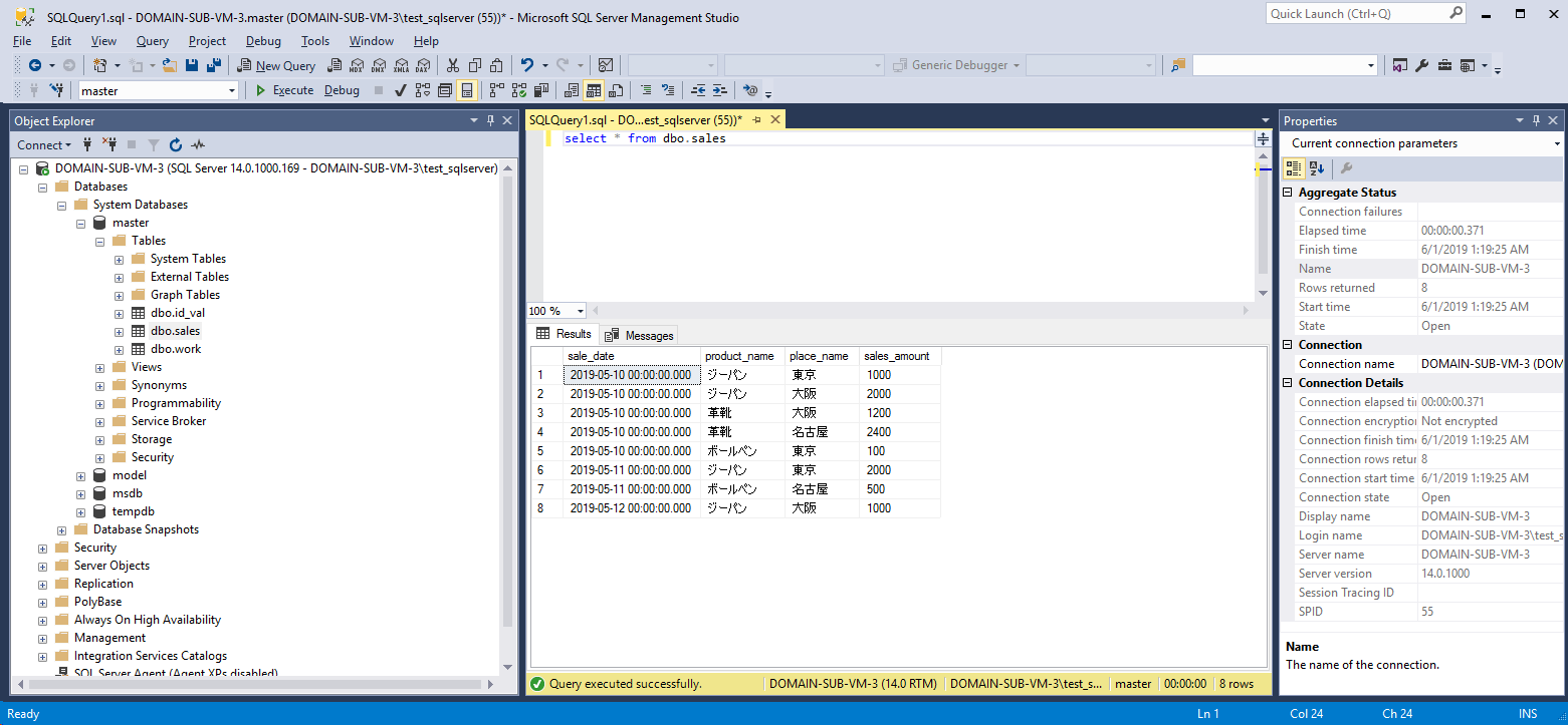 SQLServer_カラム追加前