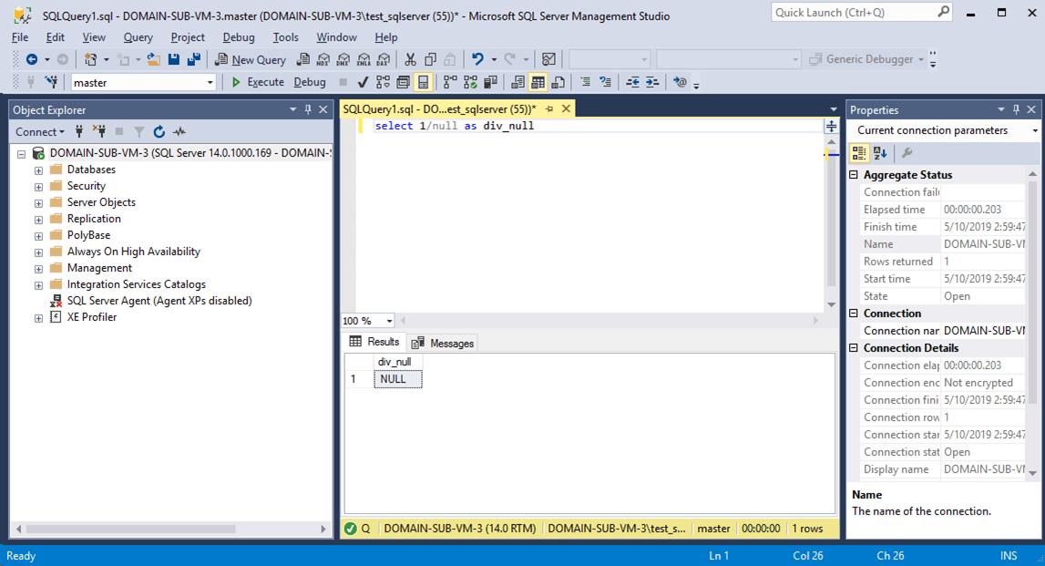 SQLServer_nullで除算