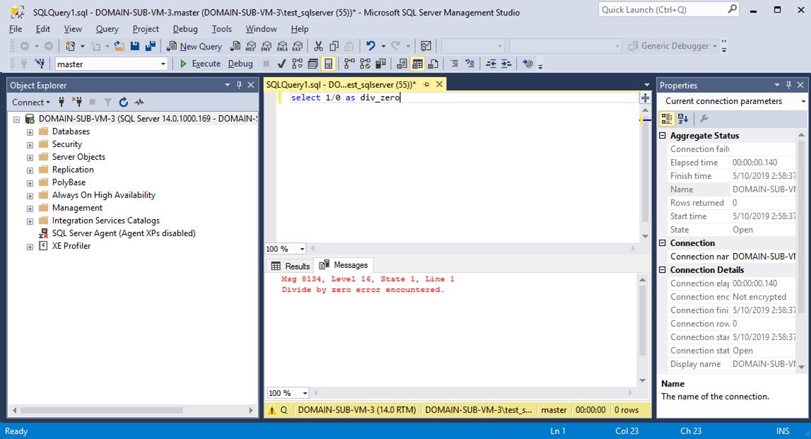SQLServer_0で除算