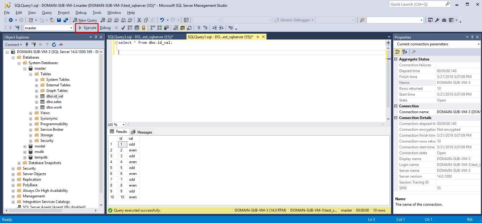 SQLServer_tsql実行後データ