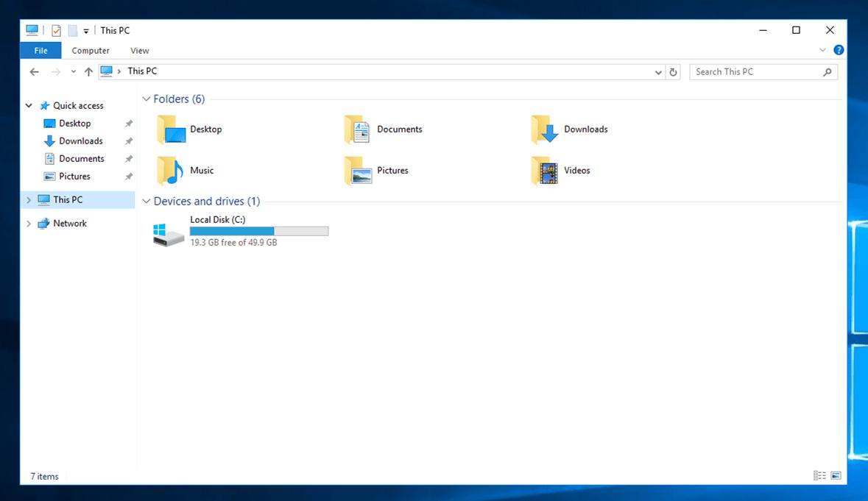 ハードディスク追加前