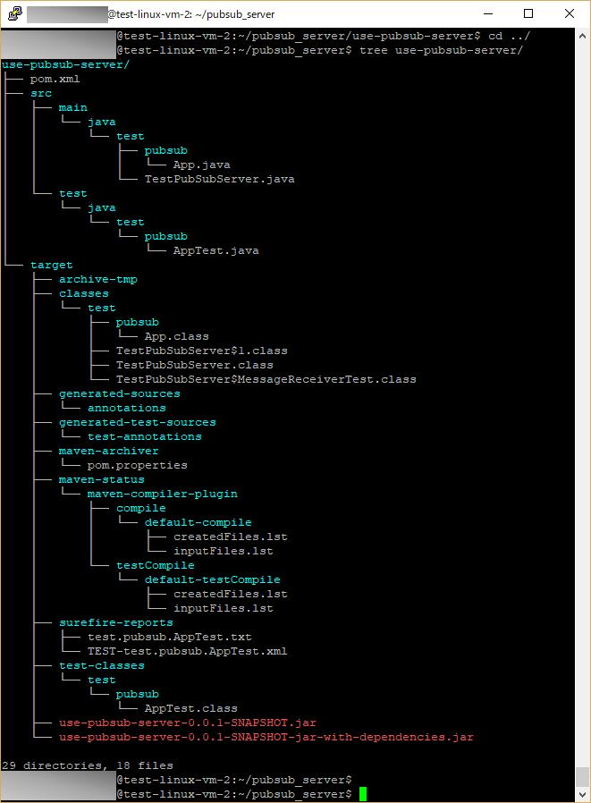 jarファイル作成_サーバー側
