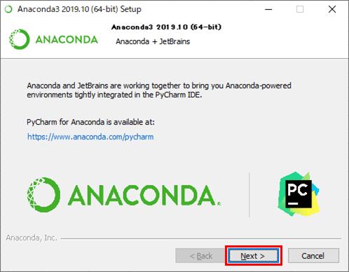 Anacondaのインストール_9