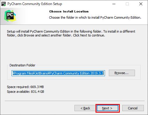 PyCharmのインストール_4