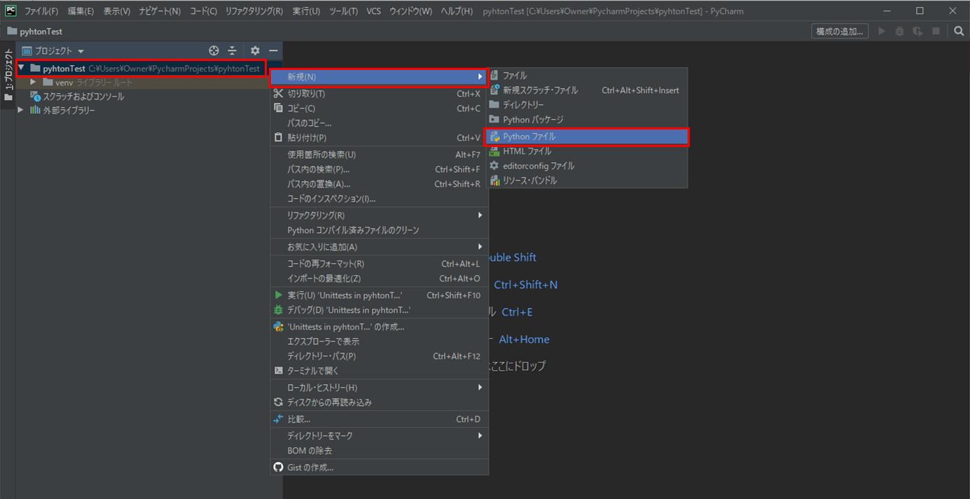 Pythonプログラムの作成・実行_2