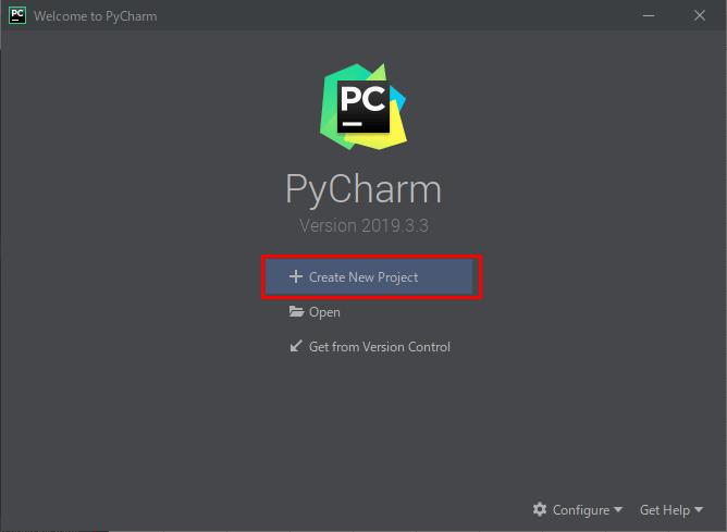 Pythonプロジェクトの作成_5