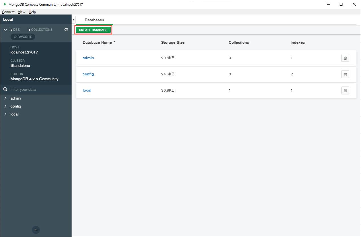 Mongoデータベースの追加_2