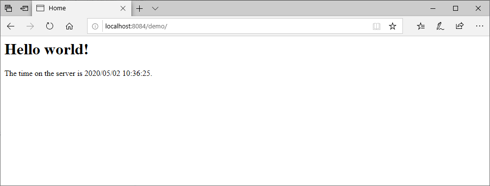 SpringMVCプロジェクトの実行_9